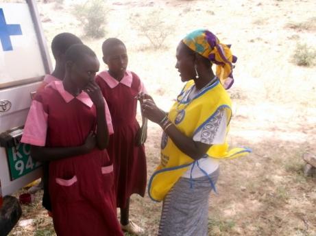 4. teaching girls at milgis sChool FP